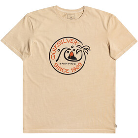 Quiksilver Into The Wild SS Tee Men, antique white
